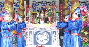 Lễ thu tế làng An Vân